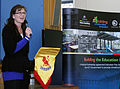 Building the Education Revolution Opening at Lyneham Primary School.jpg