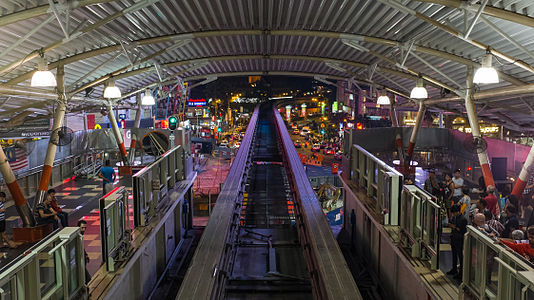 Bukit Bintang Train Station, Kuala Lumpur, Malaysia