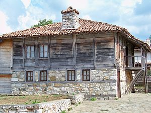 Strandzha - Typical wooden architecture of inland Bulgarian Strandzha