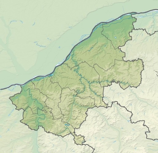 Bulgaria Ruse Province relief location map