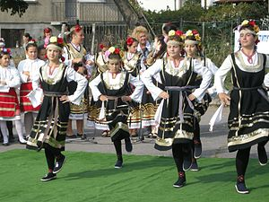 Culture of Bulgaria - Bulgarian traditional dance.