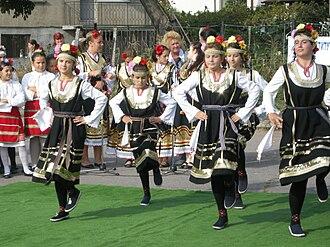 Culture of Bulgaria - Bulgarian traditional dance.