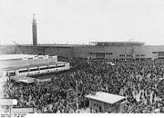 Bundesarchiv Bild 102-06304, Amsterdam, Eröffnung der Sommerolympiade