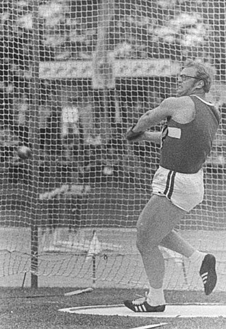 Jochen Sachse - Sachse competing in the hammer at the 1972 Summer Olympics