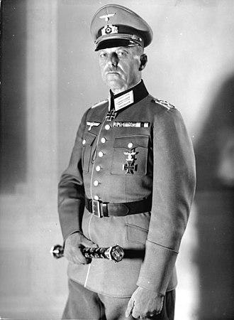 Gerd von Rundstedt - Rundstedt in 1940