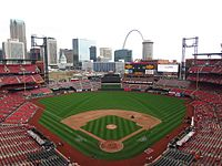 List of current major league baseball stadiums wikipedia busch stadium malvernweather