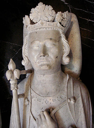 Philip IV of France - Gisant of Philip the Fair in the Basilica of Saint-Denis