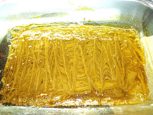 Butane honey oil after being whipped 2