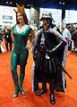 C2E2 2014 - Mera & Elizabethan Darth Vader (14085097508).jpg