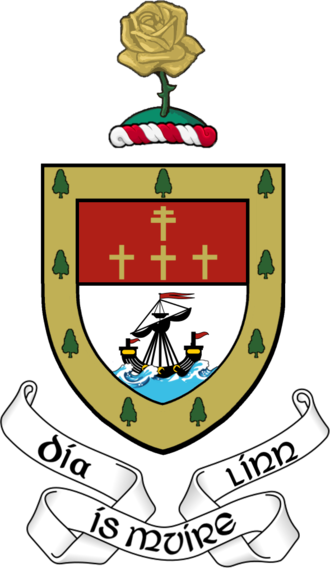 Mayo GAA - County Mayo coat of arms