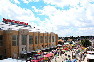 Indiana Farmers Coliseum - The Indiana Farmers Coliseum during the 2015 Indiana State Fair