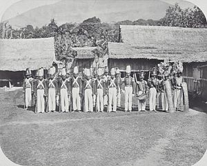 Sultanate of Ternate - The Sultan's guard (1900-1920)