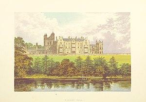 Worsley New Hall - Worsley New Hall in 1868