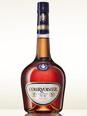 Courvoisier - A bottle of Courvoisier VS (Very Special) cognac