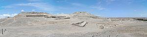 Cahuachi - Adobe pyramids at Cahuachi