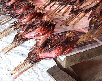 Skipjack tuna - Cakalang fufu