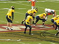 Cal on offense at 2008 Emerald Bowl 10.JPG
