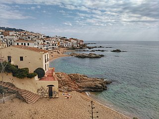 human settlement in Palafrugell, Baix Empordà, Comarques Gironines, Spain