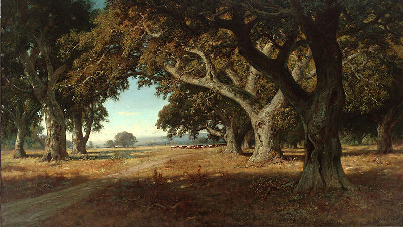 File:California Ranch by William Keith, 1908.jpg