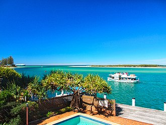Pumicestone Passage - The passage at Caloundra