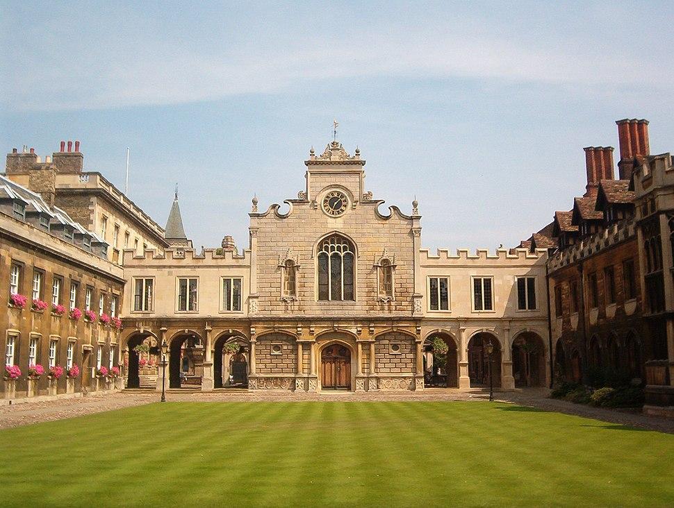 Cambridge Peterhouse OldCourt