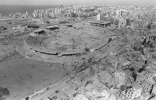 Siege of Beirut Israeli military siege during the 1982 invasion of Lebanon