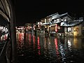 Canal in Xitang Town from boat at night 3.jpg