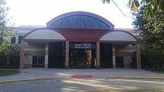 Caney Creek High School Public school in Conroe, Texas, US