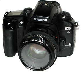 image illustrative de l'article Canon EOS 30