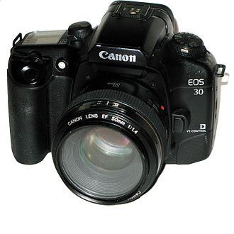 Canon EOS 30 - Image: Canon EOS 30 img 1607