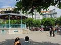Cantabria Santoña plaza san Antonio 05 kiosco lou.JPG
