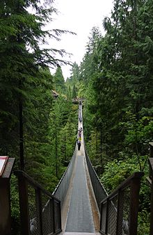 Capilano Suspension Bridge - Wikipedia