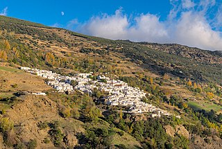 Capileira Municipality in Andalusia, Spain