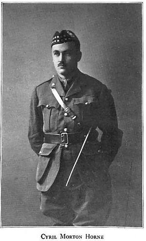 C. Morton Horne - Captain Cyril Morton Horne