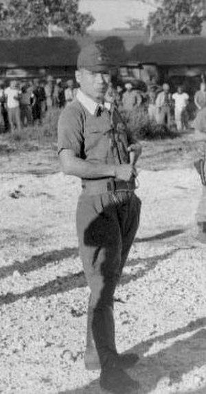 Sakae Ōba - Captain Ōba, 1 December 1945.