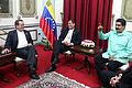 Caracas, Reunión Bilateral con Venezuela (11465922664).jpg