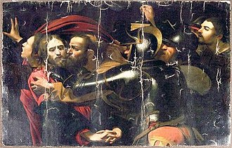 The Taking of Christ (Caravaggio) - Damaged copy in Odessa