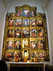 Retablo mayor de la Iglesia de San Juan Bautista (Carbonero el Mayor)