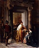 Carl Ludwig Friedrich Becker - The Petition to the Doge - Walters 37162.jpg