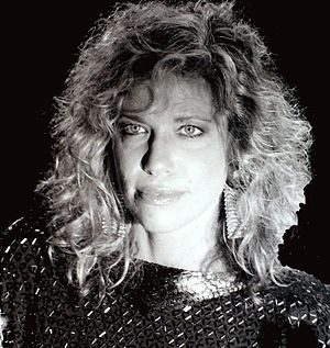 Carly Simon -  1980s publicity photo.
