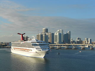 PortMiami is the world's largest cruise ship port.