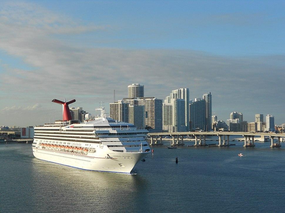Carnival Destiny Miami 12-22-11