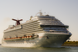 Die Carnival Dream verlässt Port Canaveral