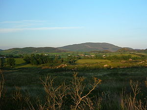Slieve Gullion - Slieve Gullion at dusk from the west