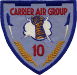 Carrier Air Group 10 (US Navy) patch 1958.png