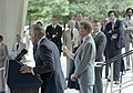 Carter being introduced by Admiral Stanfield Turner at CIA Headquarters, August 16, 1978 (10729433375).jpg