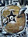 Cartoon Graffiti on ACDC Lane.JPG
