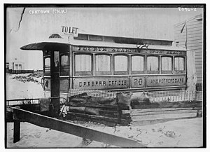 Carville, San Francisco - Carville, San Francisco railroad car in 1920