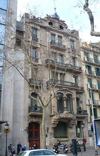 Casa Bonaventura Ferrer - Casa Bonaventura Ferrer Architect Pere Falqués.