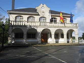 Santiso - Image: Casa do Concello de Santiso